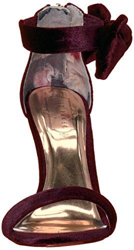 Baker Sandal Torabel Ted Heeled Burgundy Women's g0wWU7