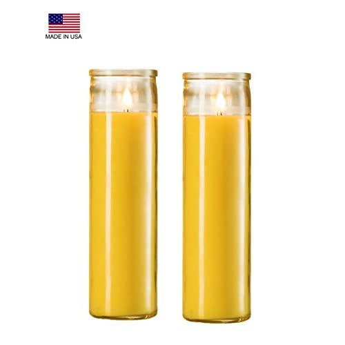 2 Citronella Candles Poured in Glass Jar - Highly big image