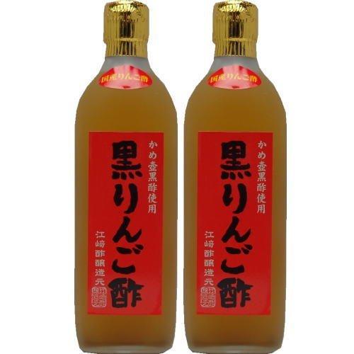 Black apple vinegar 500mlX2 pieces by Ezaki vinegar brewing source (Image #3)