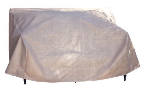 Duck Covers Elite Patio Loveseat Cover with Inflatable Airbag to Prevent Pooling, 62-Inch by Duck Covers