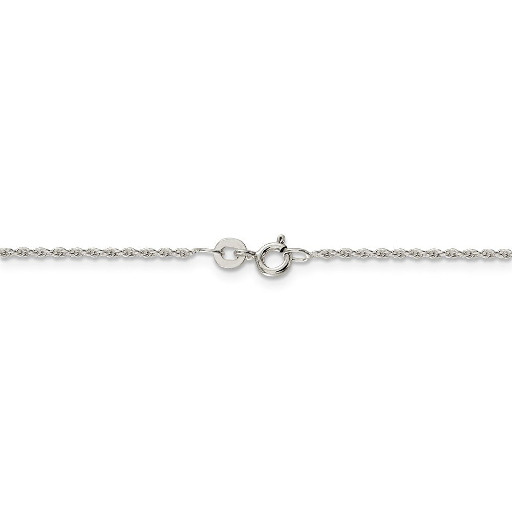 Jewelry Necklaces Chains Sterling Silver 1.3mm Loose Rope Chain