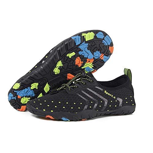 Barefoot Schage Noir Natation Aquatique Chaussures Hommes Surf D'arobic Nautiques Pour Femmes Piscine Chaussettes De Aqua Sports 01 Yoga Rapide UwqtIxFYt