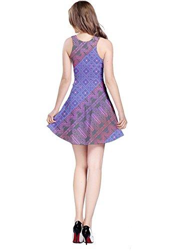 CowCow - Vestido - para mujer Colorful Squares
