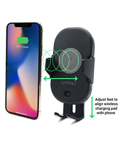 10W for Galaxy S10 S9 S8 Quick Charge Car Charger Included Roav W1 Fast Wireless Car Charger with Air Vent Phone Holder Qi-Certified 7.5W for iPhone Xs Max XR XS X 8//8 Plus Note 10