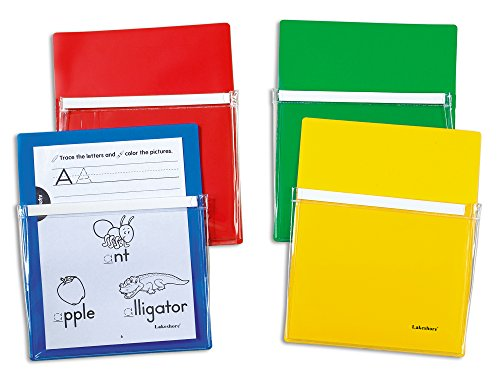 Lakeshore Magnetic Paper Pockets - Set of 4