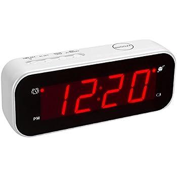 Amazon Com Kwanwa Led Digital Alarm Clock Battery Powered