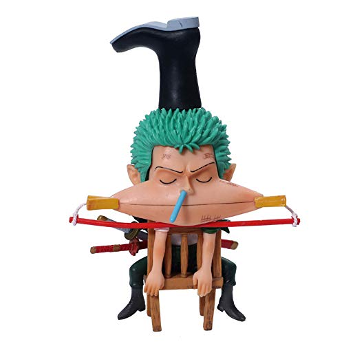 Anime Model Resin - JHart One Piece Action Figure, Toy Model, Anime Character Replica,Resin Statue, Handicrafts,Home Decor Sculpture,Fan's Gift,Souvenirs, Collectibles,Zoro