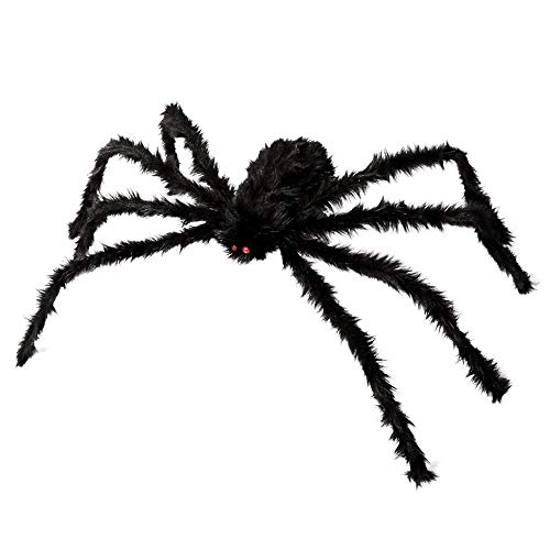 ZDATT Halloween Spider 55inch 140cm Giant Spider Outdoor