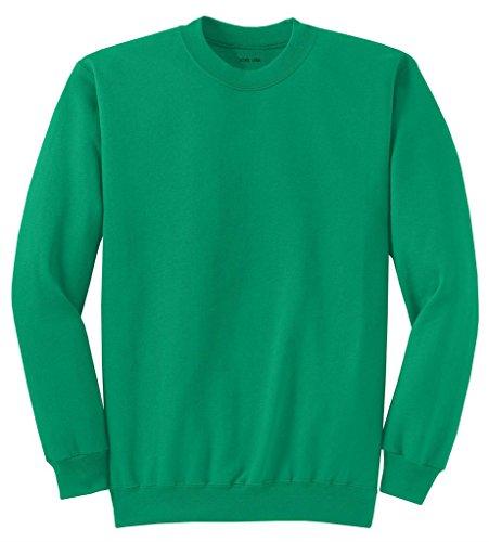 Joe's USA Adult Classic Crewneck Sweatshirt, 3XL -Kelly Green -