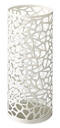 Nest - White Metal Round Umbrella Stand, Modern Home Decor