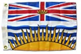 British Columbia – Canadian Province 12″ x 18″ Nylon Flag