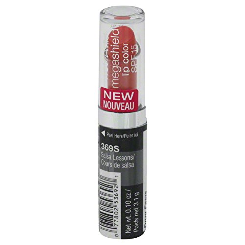 Wet n Wild MegaShield Lip Color, Salsa Lessons [369S] 0.10 oz (Wild Lessons)