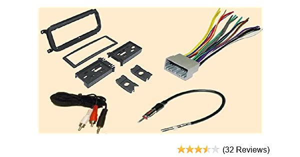 Amazon Radio Stereo Install Dash Kit Wire Harness Antenna Adapter For Dodge Caravan 0206 Dakota 0304 Durango 0203 Intrepid 0204: 1997 Dodge Intrepid Wiring Harness At Jornalmilenio.com