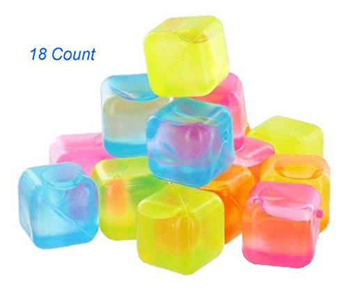 DINY Reusable Ice Cubes BPA Free 18-36 - 54 Count (18)