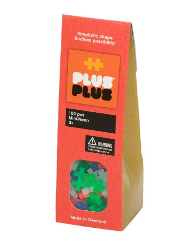 Plus Pieces (Plus-Plus 100-Piece Neon Assortment)