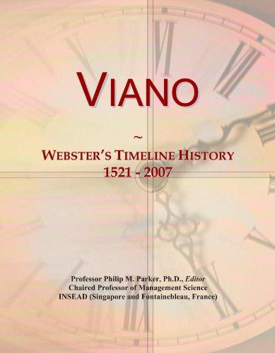 Viano: Webster's Timeline History, 1521 - 2007
