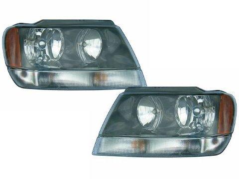 04 jeep cherokee headlights - 7