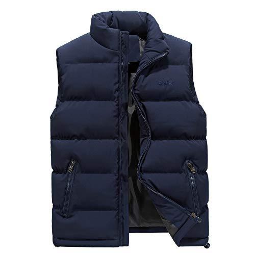 - LISTHA Padded Cotton Vest Mens Winter Hooded Coat Sleeveless Jacket Thick Warm