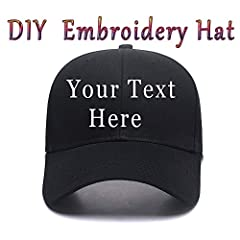 Whether it's to shield yourself from the harmful sun or just for clothing, you are going to need some hats in your life.We have the best customized hats to help keep your skin safe and your style on point.Add your text or monogram and it will...