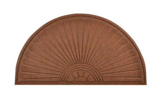 - No Trax Designs 169F0036BR Guzzler Sunburst Door Mat, 36
