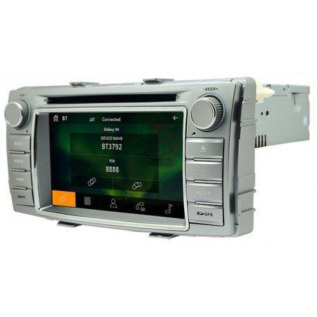 Radio de coche Toyota Hilux para GPS bluetooth: Amazon.es: Ropa y accesorios