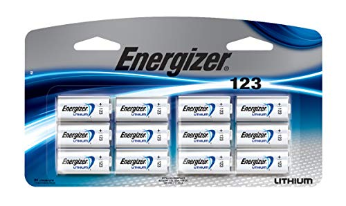 Energizer 123 Lithium Photo Battery, 1-Pack