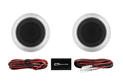 (CT Sounds Meso 25mm Flush Mount Silk Dome Tweeters)