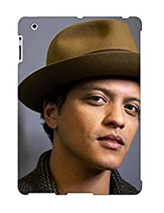 Durable Protector Case Cover With Bruno Mars Hot Design For Ipad 2/3/4 (ideal Gift For Lovers)