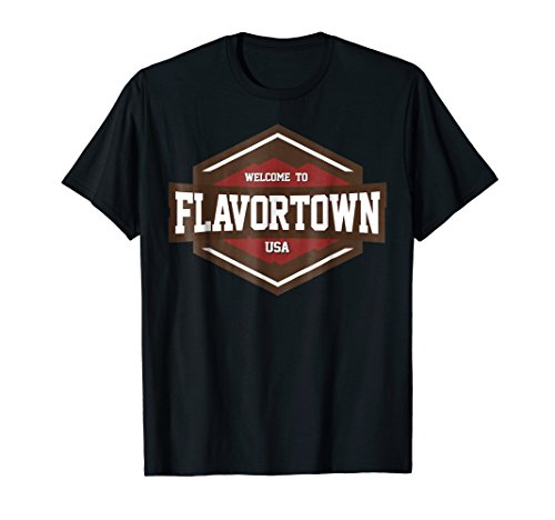 Flavortown Food Culture T-shirt (Diners Drive Ins And Dives Food Trucks)