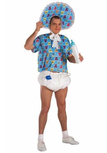 [Forum Novelties Men's Baby Boomer Costume, Blue, Standard] (Couple Costumes Halloween)