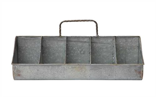 10-Compartment Tin Organizer - Set Of 2 by Heart of America