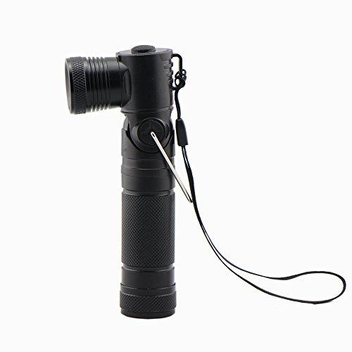 Fameway® Flashlight Torch LED 90° Curve CREE XP-E R3 Light Lamp