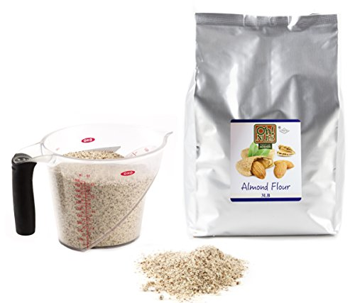 Almond Flour, UNBLANCHED Almonds Healthy Flour, Extra Fine Ground Almonds Meal - Oh! Nuts (3 LB Bag Natural Whole Almond Flour) by Oh! Nuts® (Image #2)