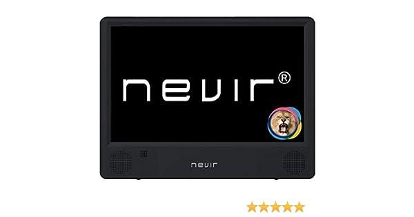 NEVIR NVR-7302-TDT10P2 TELEVISIÓN PORTÁTIL TDT USB: BLOCK: Amazon ...