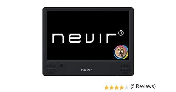 NEVIR NVR-7302-TDT10P2 TELEVISIÓN PORTÁTIL TDT USB: BLOCK: Amazon.es: Electrónica