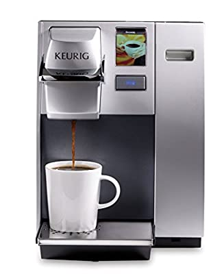 Keurig K155 Office Pro Commercial Single Serve K-Cup Pod Coffee Maker, Silver