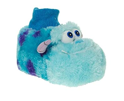 765ddd7bf890 Disney Unisex Blue Monsters Inc Sully Slippers Size 9  Amazon.co.uk  Shoes    Bags