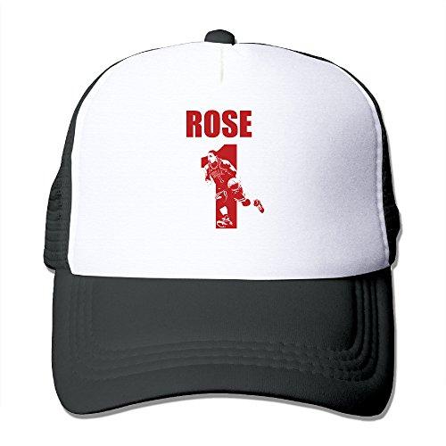 [ACMIRAN Basketball Rose Player Soft Snapback One Size Black] (Kid Sized Assassins Creed Costume)