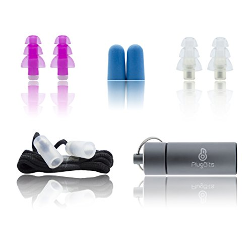 Noise Canceling Ear Plugs | High Fidelity Noise Reduction Earplugs | For Musicians, Motorcycle, Swimming, Travel, Sleeping, Concerts, Djs, Drummers | All In 1 Case | Fit All Kinds Of Ear Canals