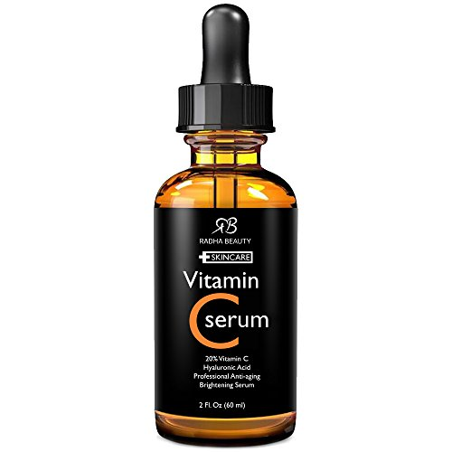 Radha Beauty Vitamin C Serum for Face, 2 fl. oz - 20% Organi