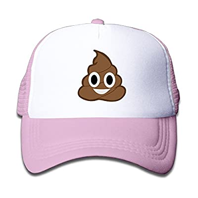 Kid's Funny Poop Emoji Wicked Gift Baseball Cap