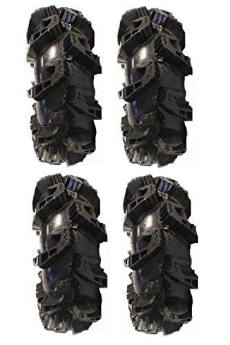 (Full set of Gorilla Silverback MT2 36x10-18 ATV Mud Tires (4))