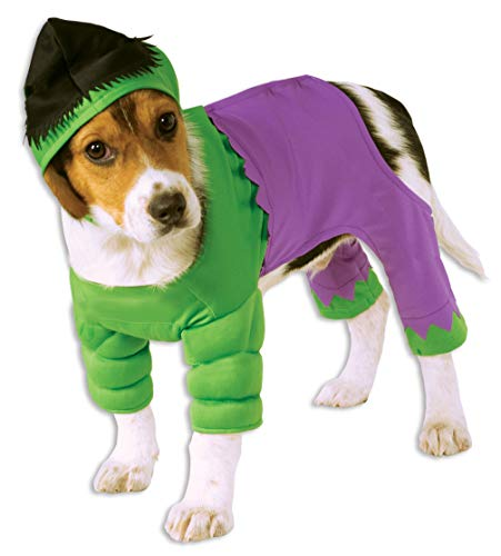 Rubie's Marvel Universe The Hulk Pet Costume, Extra-Large