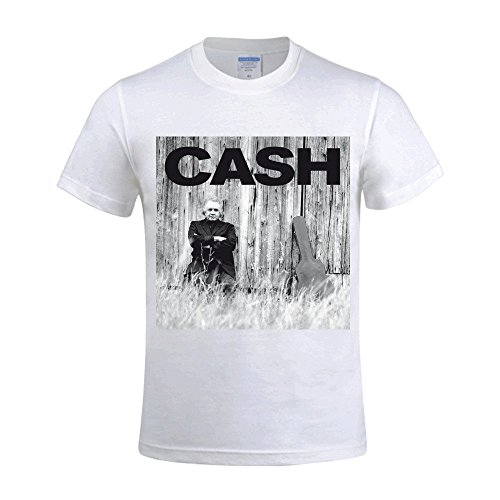johnny-cash-american-recordings-mens-funny-t-shirts-o-neck-white