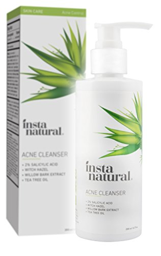 Acne Face Wash With Salicylic Acid - Cleanser Treatment for