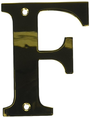 (Deltana RL4F-CR003 4-Inch Residential Letter F House Board)