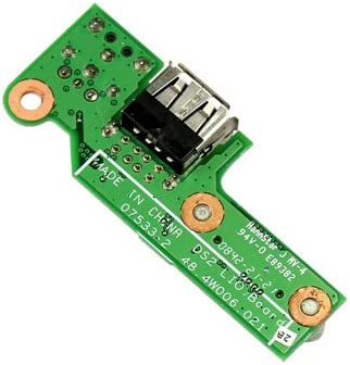 Replacement DC USB Board for Dell Inspiron 1525 1526 48.4w006.021 DC in Power USB Board