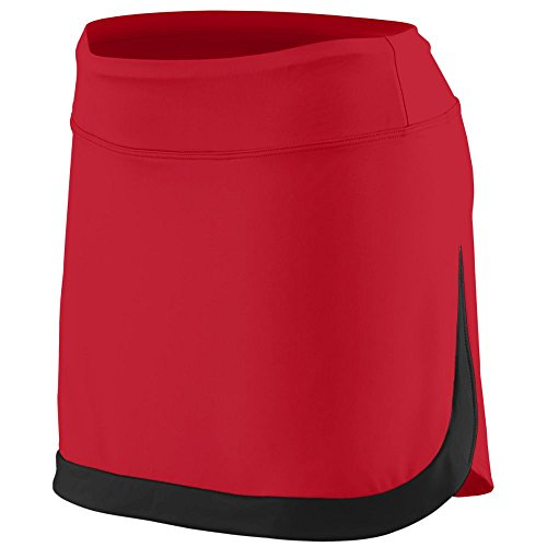 Augusta Sportswear Women's Action Color Block Skort – Low Rise Odor Resistant