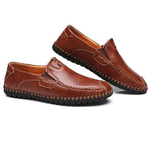 Marrón Feidaeu Hombre Zapatos Feidaeu Zapatos 01dxqwI