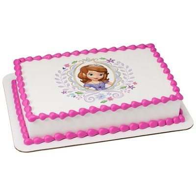 Sophia The First Licensed Edible Cake Topper #43885